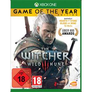The Witcher 3: Wild Hunt - Game of The Year Edition (PS4/Xbox One) für 19,99€ (Müller)