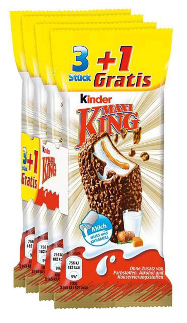 Netto (o.Hund) Kinder Maxi King 4 Stück 99 cent
