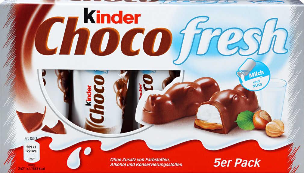 Kaufland  KINDER Choco fresh 5 St. = 105-g-Packg.  (100 g = 0.95 €)