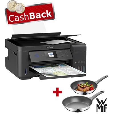 Epson ET-2750 + Gratis Pfannenset WMF + 40€ Cashback [bueroshop24.de]