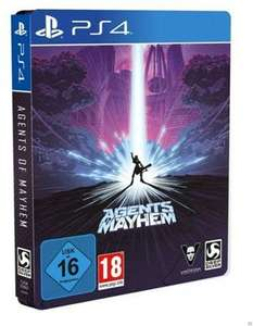 Agents of Mayhem Steelbook Edition (Ps4 & Xbox One)