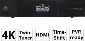 VU+ Solo 4K 2x DVB-S2 FBC Tuner (PVR Ready, Twin Linux Receiver, UHD 2160p, HDD-vorbereitet) [Alternate]