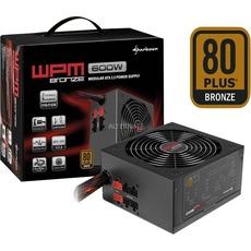 [alternate] Sharkoon WPM600 Bronze PC-Netzteil (600 Watt, ATX, Kabelmanagement, teilmodular)