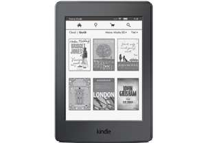 Kindle Paperwhite eBookReader 4 GB WLAN Schwarz für 89€ [Mediamarkt.at]