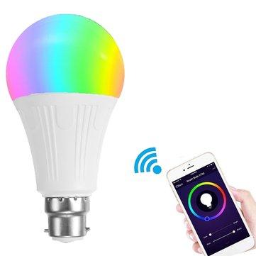 Smart LED (WiFi APP Alexa Google Home fähig - B22 7W RGBW)  für 7.74€ @ Banggood