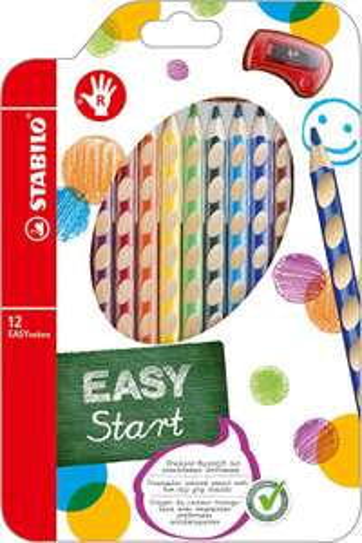 Amazon Prime Ergonomischer Buntstift - STABILO EASYcolors - 12er Pack mit Spitzer 8,28 Euro