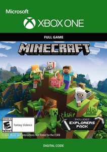 Minecraft + Explorers Pack (Xbox One Digital) für 12,85€ (Cdkeys)