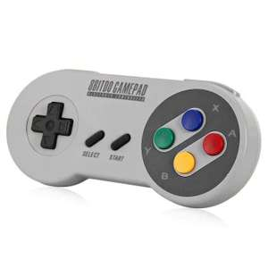 Dresslily   8Bitdo SF30 drahtlose Bluetooth Gamepad Game-Controller für iOS Android PC Mac Linux 16,16 Euro ink. VSK