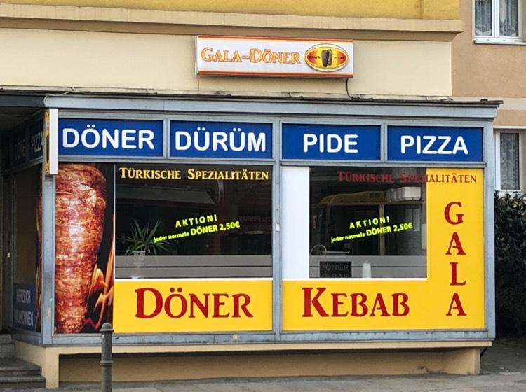 Lokal Dresden Gala Döner