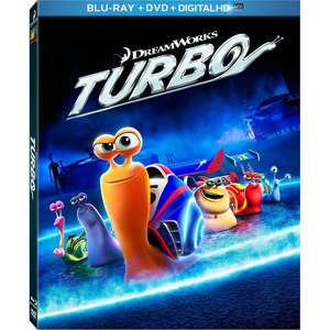 Turbo (3D Blu-ray + Blu-ray + Digital Copy) für 3,32€ (Shop4DE)
