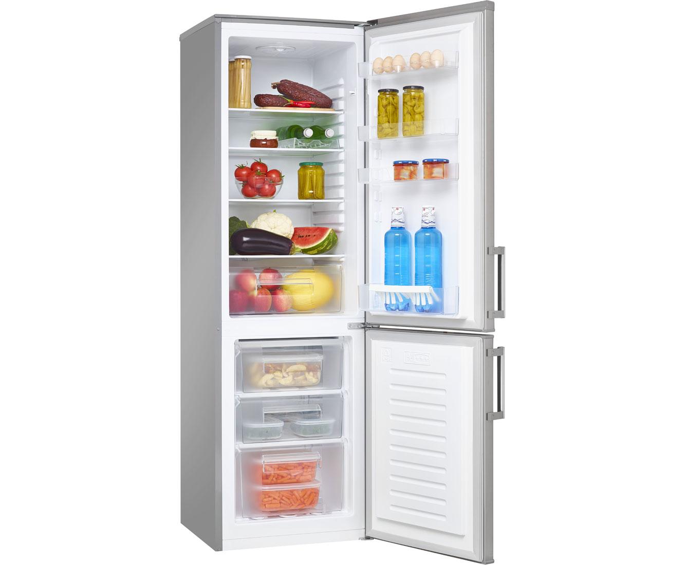 Amica Kühlschrank Marke : Amica kgc e kühl gefrierkombination edelstahl optik a