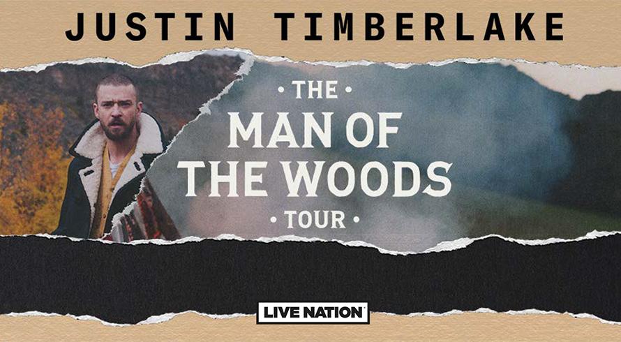 JUSTIN TIMBERLAKE Karten vor allen anderen kaufen TOUR MAN OF THE WOODS