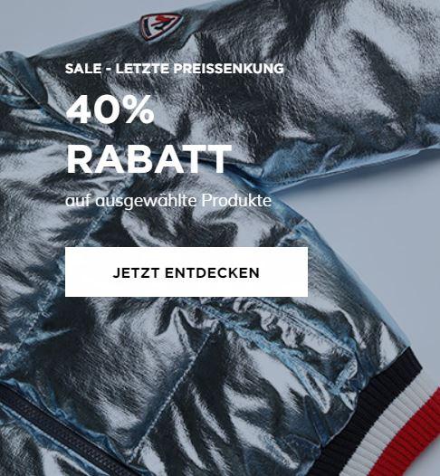 Rossignol SALE / letzte Stufe / -40% auf Modekollektion