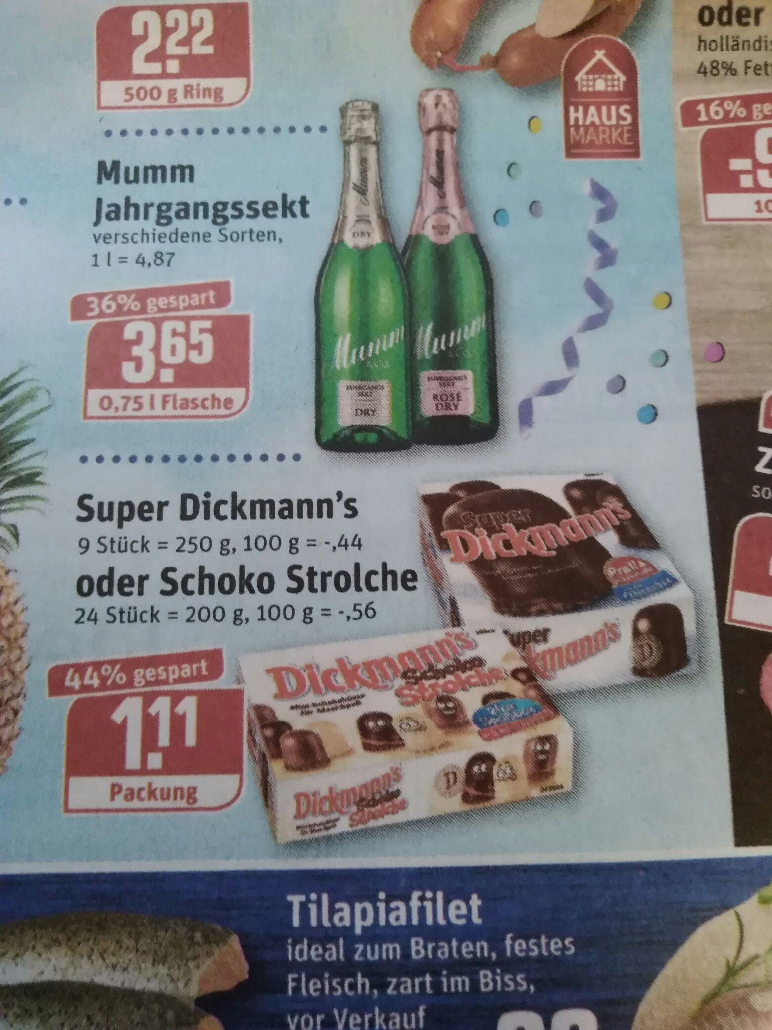 [Rewe] Super Dickmann's oder Schoko Strolche