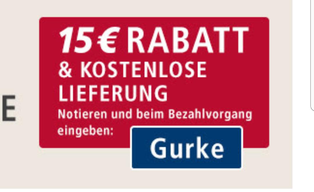 Real Markt Online 15€ Gutschein & Kostenlose Lieferung ab 100€
