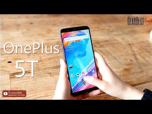 Gearbest DE-CN : Oneplus 5T 6GB 64GB