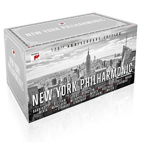 Für Klassikliebhaber und -einsteiger: Große Sammelbox (65 CDs!) zum 175. Jubiläum des New York Philharmonic Orchestras