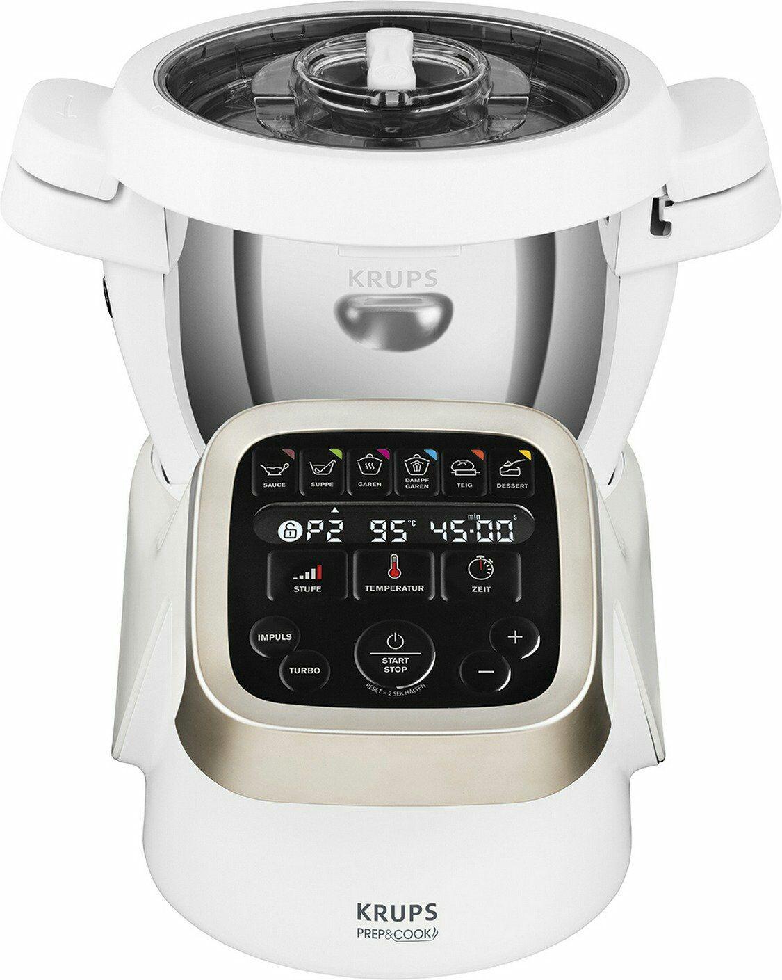 Aktionsauswahl - Beispiel: Multifunktions-Küchenmaschine Krups Prep & Cook HP 5031