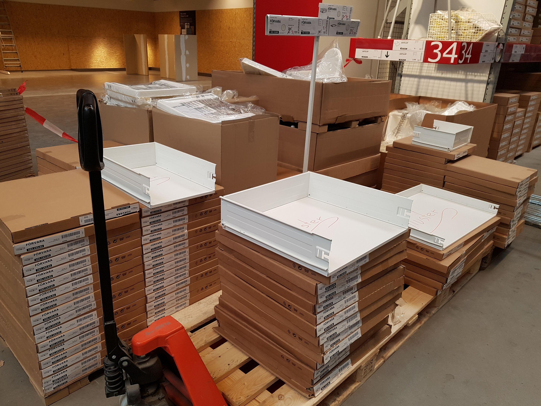 Ikea Mannheim FÖRVARA Schubladen
