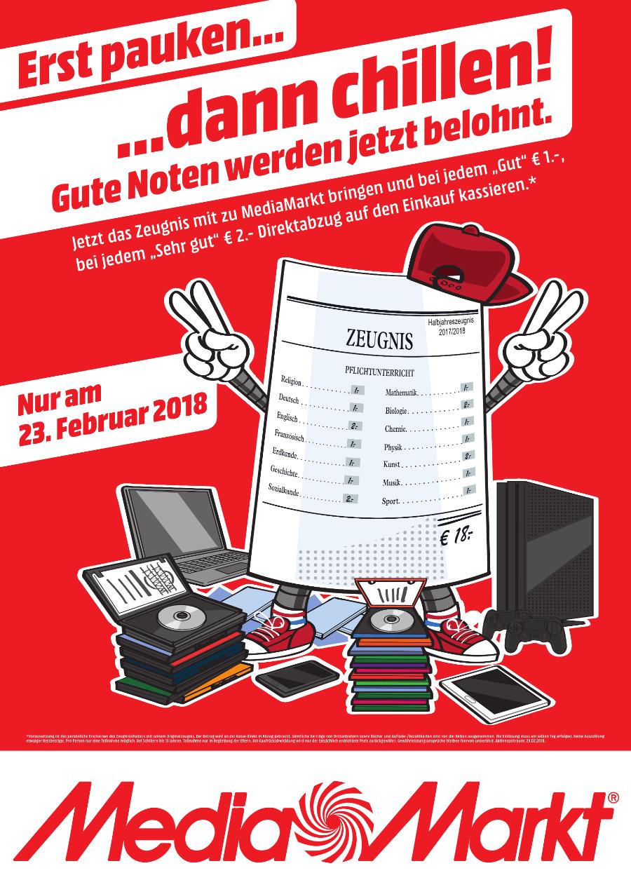 Heute Lokal München MM Euroindustriepark - Zeugnisaktion