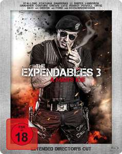 The Expendables 3 - Extended Director's Cut - Steelbook (Blu-ray) für 4,99€ (Müller)