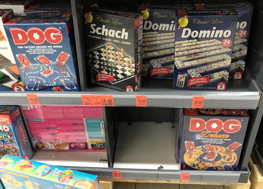 [Lokal Kaufland Freiburg] Gesellschaftsspiel DOG