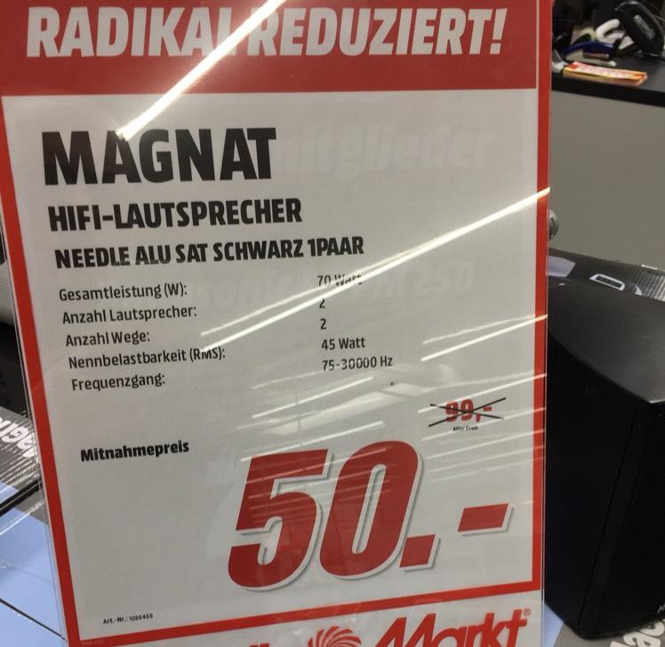 Magnat Needle Alu Sat schwarz - Lokal MM Buchholz