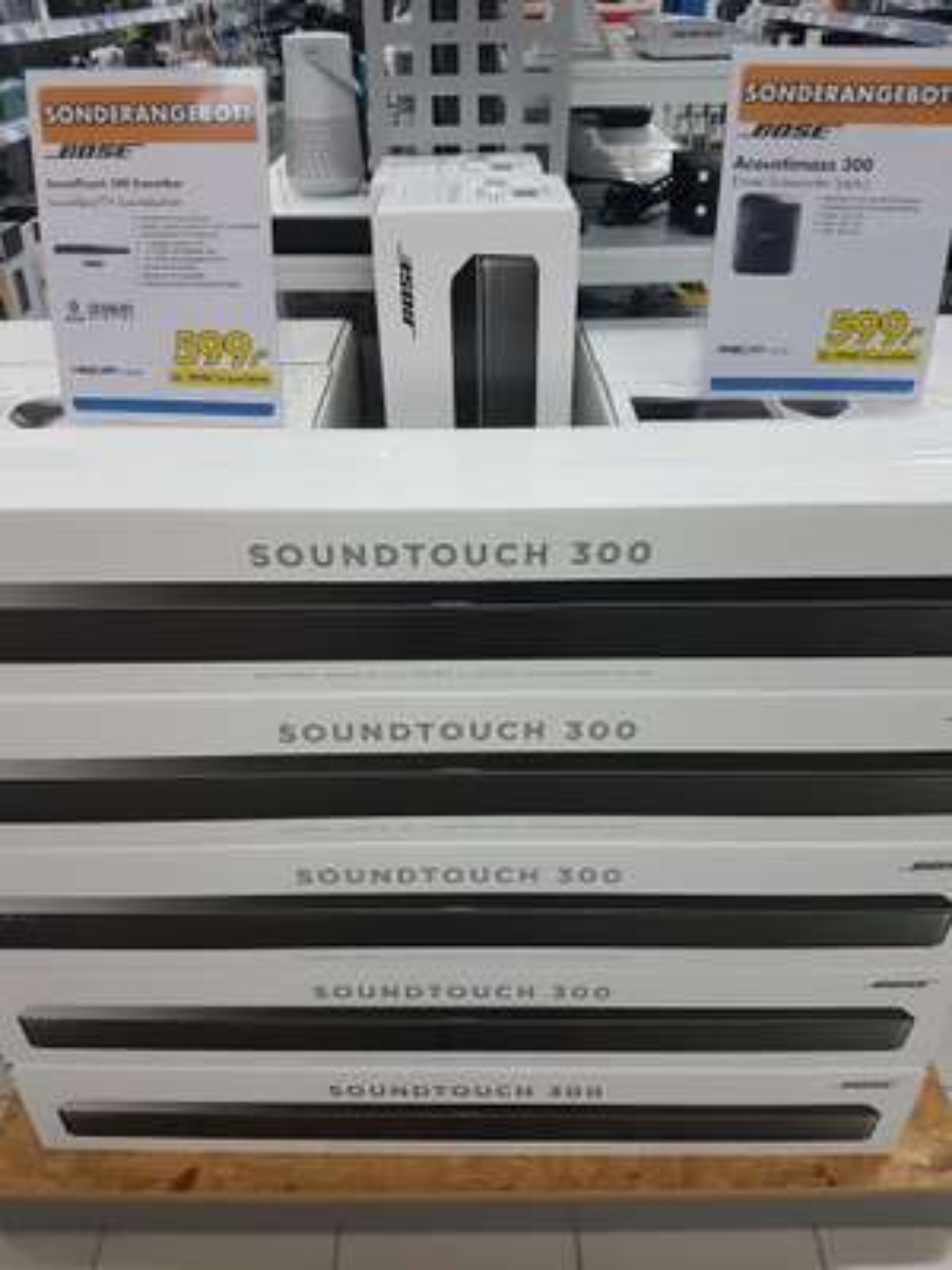 Bose SoundTouch 300 und Acoustimass 300 jeweils 599€ auch online