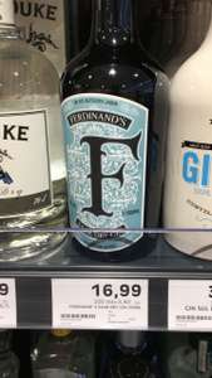 [Lokal Edeka Dieburg] Ferdinand's Saar Dry Gin 0.5l 44%