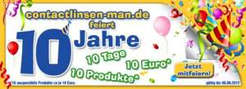 Kontaktlinsen für nur 10€ - contactlinsen-man.de