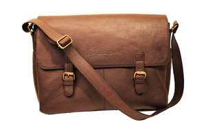 Civilisation VI Messenger Bag aus Leder