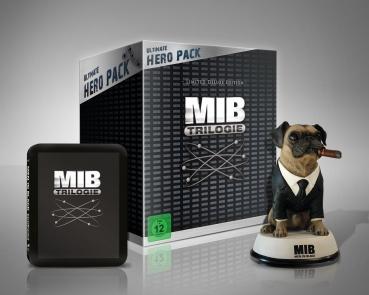 Men in Black 1-3 (Ultimate Hero Pack + Figur) [Blu-ray] für 39,94€ @Alphamovies