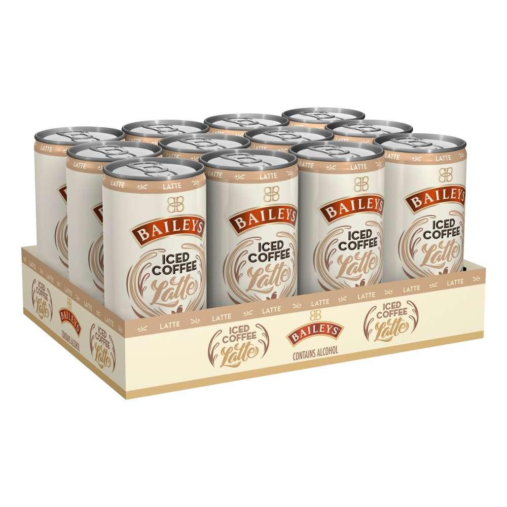Baileys Iced Coffee Latte 12er Kaffee Mischget. 4% vol. inkl 3€ Pfand @ebay