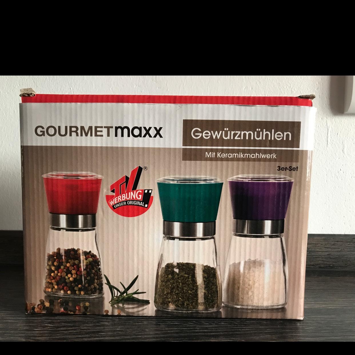 [LOKAL/LEIPZiG] KIK Gewürzmühlen Keramik GourmetMaxx 3er-Set