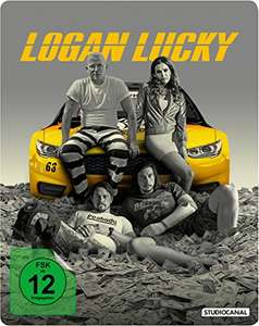 Logan Lucky - Limited Steelbook Edition (Blu-ray) für 14,61€ (Amazon Prime & Thalia​)