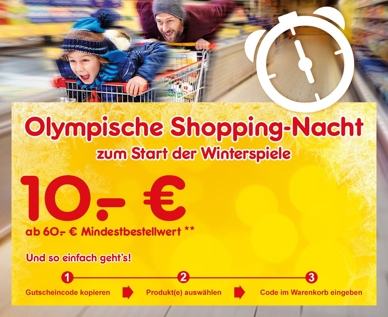 Netto Marken-Discount 10€ Online Gutscheincode (MBW 60EUR) - Nur heute von 18:00 -0:00 Uhr