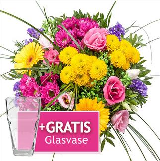 [LIDL Blumen] 20% Rabatt auf (fast) alles + keine Versandkosten + 23% Cashback + Gratis Vase