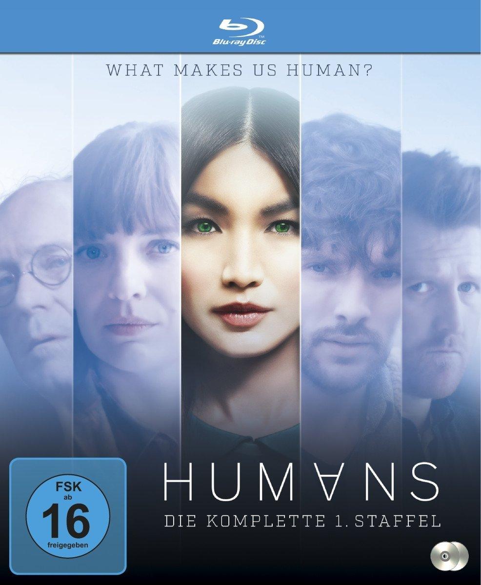 Humans - Die komplette Staffel 1 (Blu-ray) für 9,99€ (Saturn + Amazon)