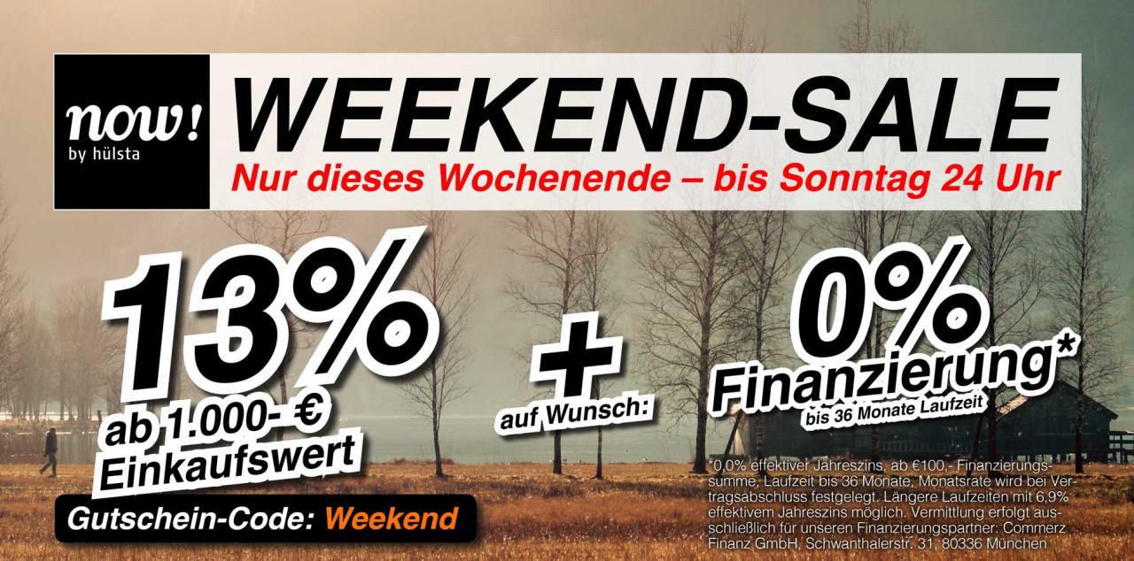 13% auf Now by Hülsta Möbel (ab 1000€ Einkaufswert)