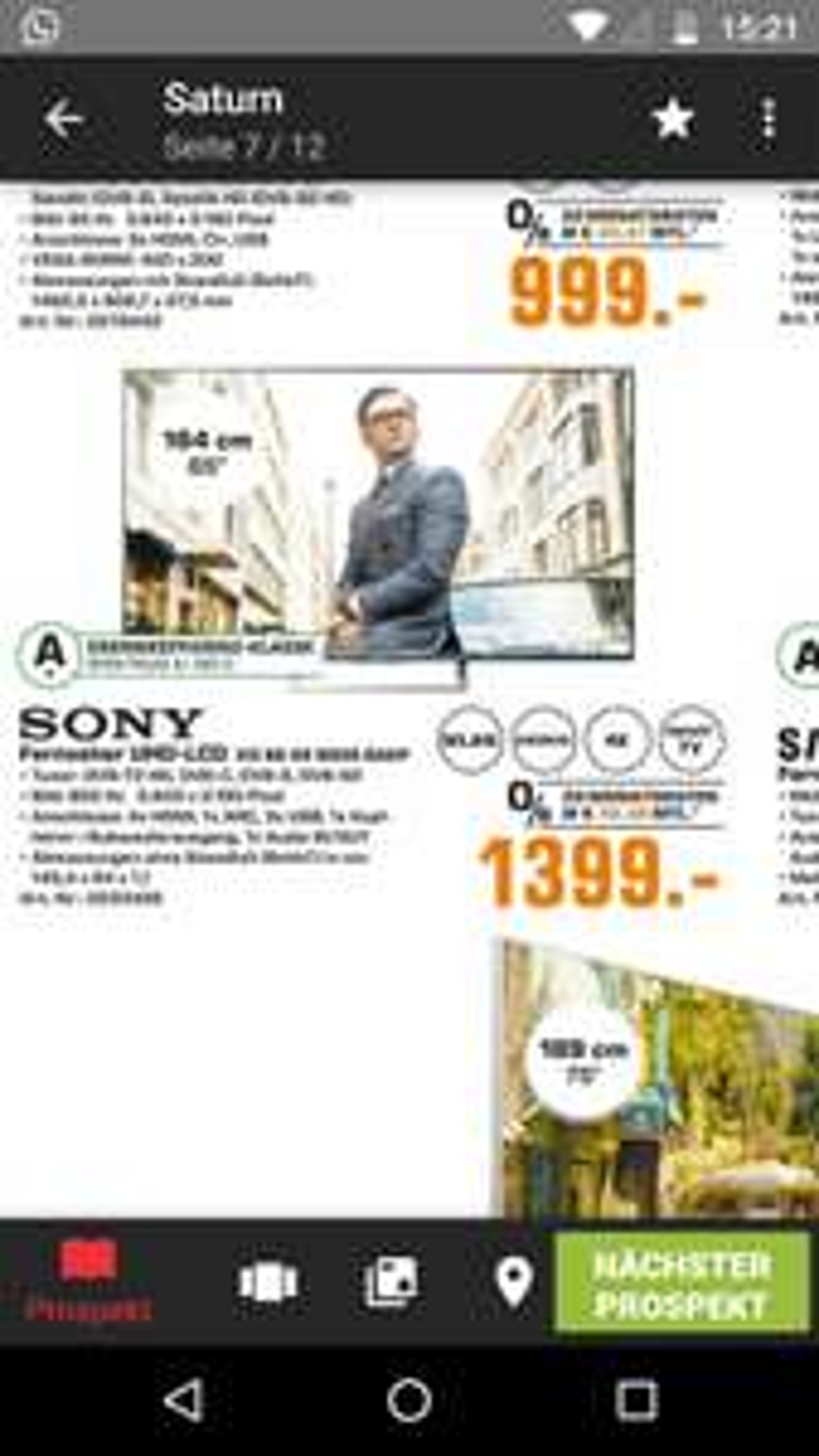 (Lokal Flensburg) Sony KD-65XE8505