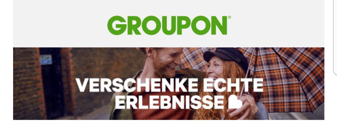 [ Groupon ] bis zu 25% auf lokale Deals