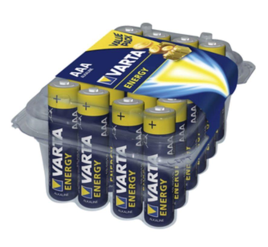[POCO] VARTA Energy Batterien 24er Pack AA oder AAA