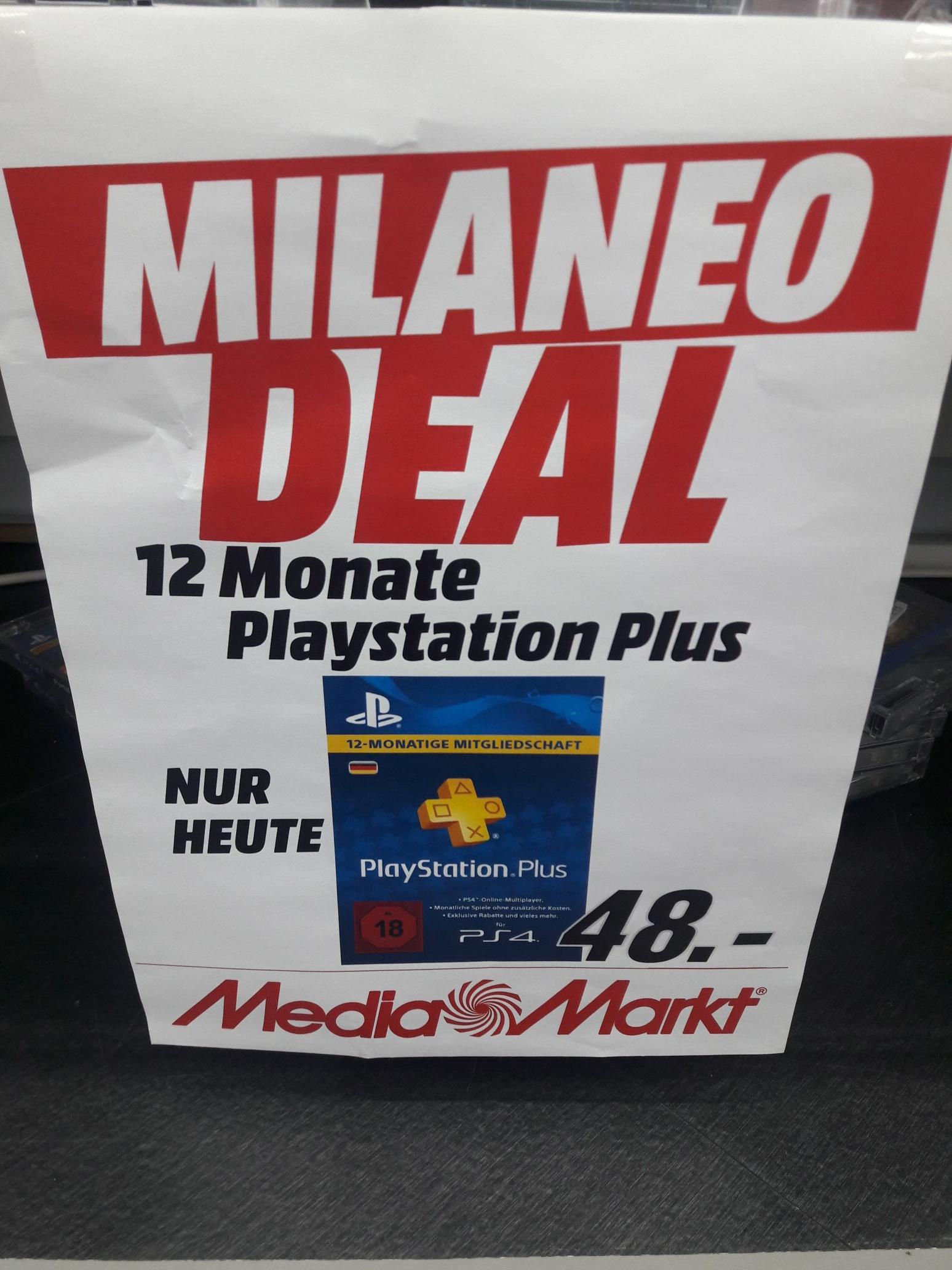 [Lokal Stuttgart Milaneo] PSN günstiger