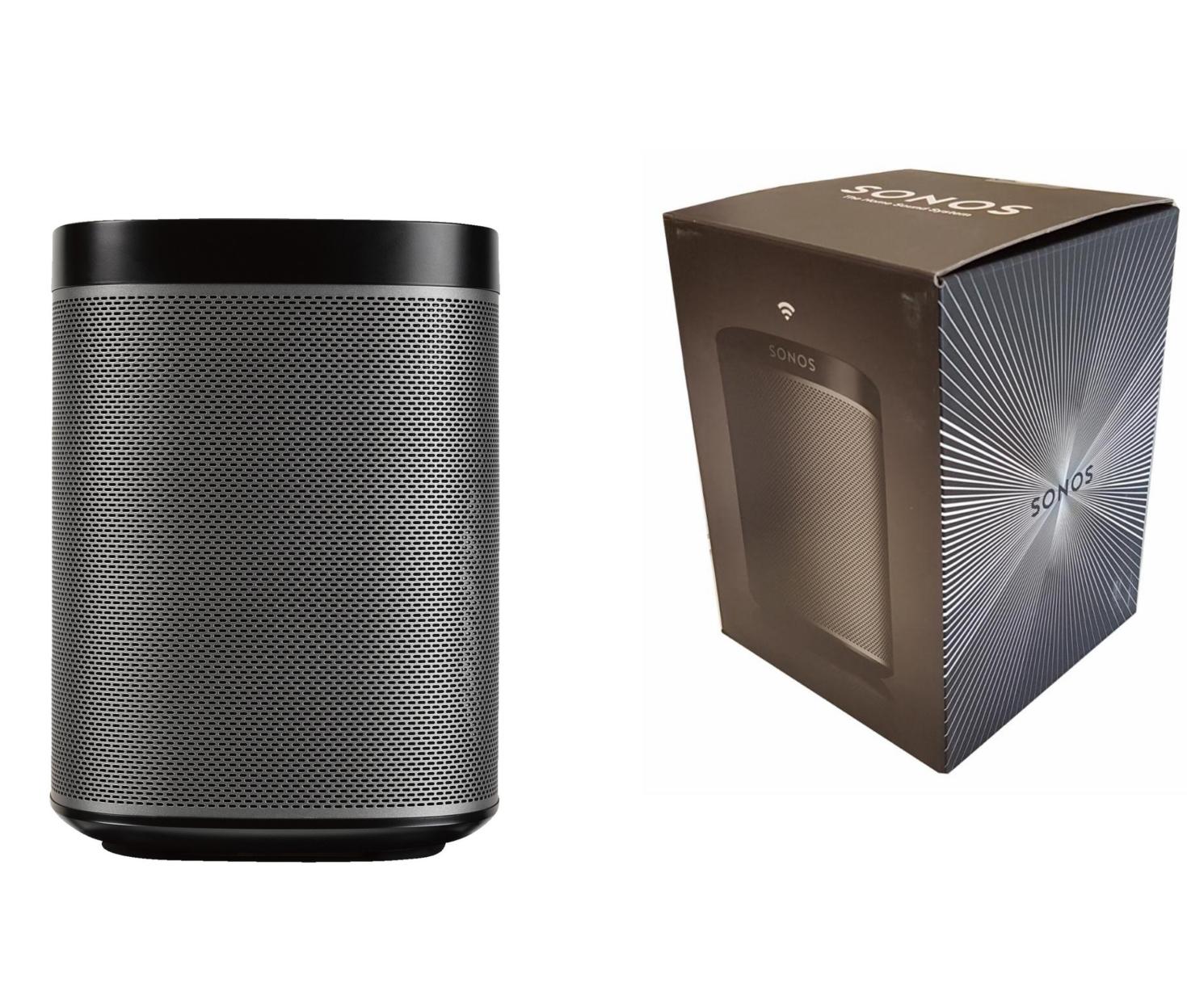 """[@Dealclub] Sonos PLAY:1 WLAN-Speaker für Musikstreaming in schwarz """"Neuware in offener Originalverpackung"""" für 154,99€ inkl. Versand [+shoop]"""