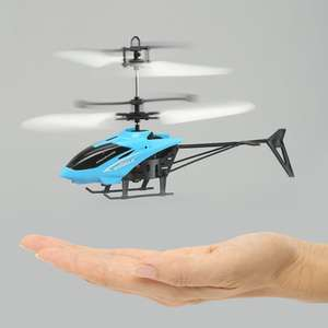 [Gamiss]  Flashing Light Mini Infrared Induction Flying Helicopter