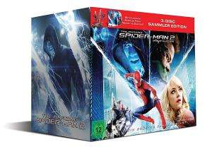 The Amazing Spider-Man 2: Rise of Electro (Special Edition inkl. Figur Spidey Vs. Electro + 3D Blu-Ray + DVD & UV Copy) für 24,94€ & Collector's Edition (3D Blu-ray + 2D & DVD) für 24,99€ (Alphamovies)