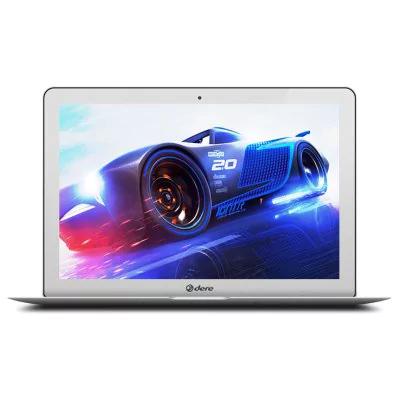 DERE A3 Air Notebook 4GB  RAM - 64G SSD + 500G HDD  SILVER  14.1 Zoll  Windows 10 English Version Intel Celeron J3455