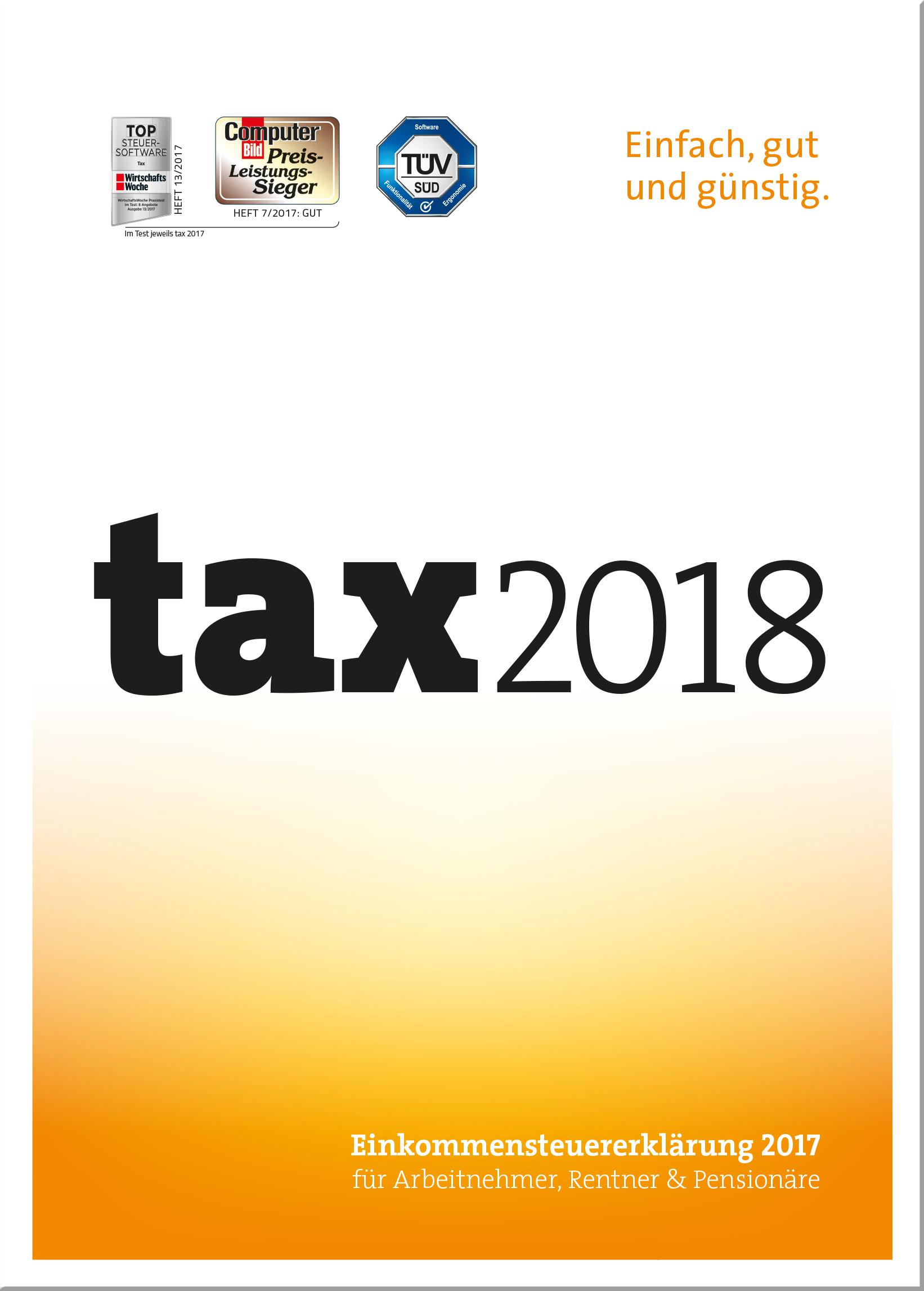 Gutscheinfehler - Buhl tax 2018 Standard ESD (Download) - Steuererklärung