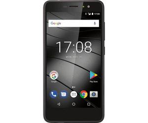 [NBB] Gigaset GS170 (12,7 cm (5 Zoll) Smartphone Dual Sim (16GB interner Speicher, 2GB RAM, 13MP Kamera, Android 7.0, schwarz