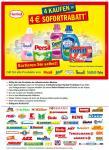 4€ Sofortarabatt auf Produkte von Henkel: Persil, Spee, Somat, Perwoll, Weißer Riese @ real, rossmann, dm, Müller, Ihr Platz uvm.
